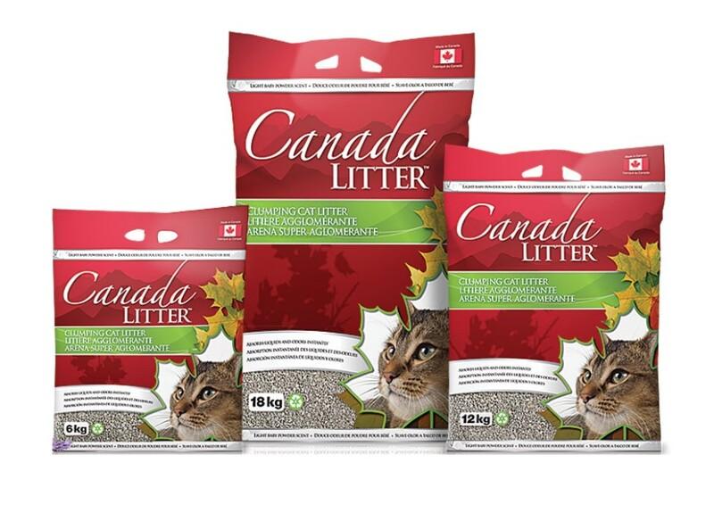 cat ve sinh canada litter