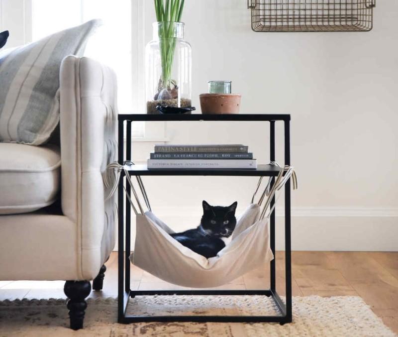 cách làm chỗ ngủ cho mèo