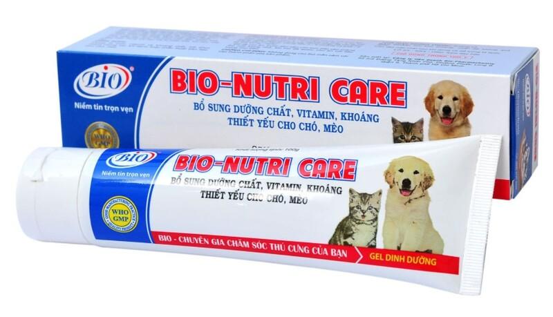 gel dinh duong cho cho Bio - Nutri Care